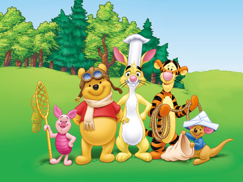 wallpaper cartoon pooh. hot Wallpapers Winnie the Pooh