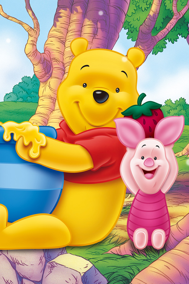 Wallpapers of winnie the pooh impremedia winnie the pooh phone wallpaper voltagebd Gallery