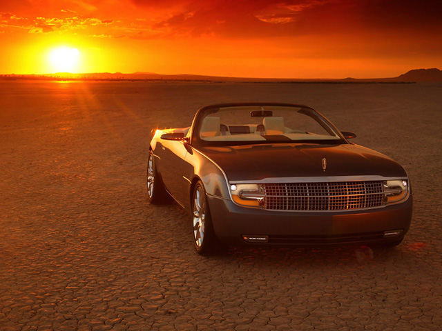 Lincoln Mark X Roadster Concept